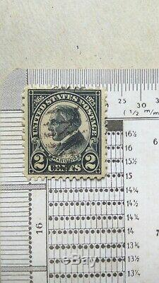 DTG' US Stamp 2 cent Scott # 613' Rotary Press Pf11