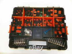 Deutsch Dt Series Black Stamped Connector Kit 417 Pc +tool Harley Cat
