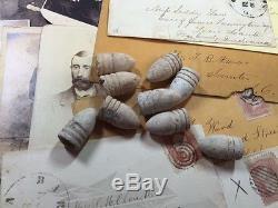 Estate CIVIL War Starter Lotcoins+stamps+bullets+collectibles+militaria++#%50