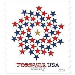 Forever Patriotic Spiral USPS Forever Postage 500 Stamps Wedding Postage