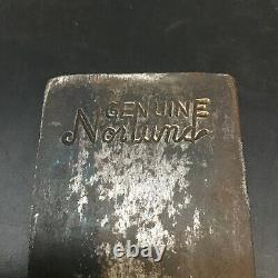 Genuine Norlund Tomahawk Axe Hatchet Head Woodsman Hudson Bay Great Stamp! Nice