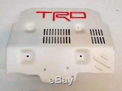 Genuine Toyota Accessory Trd Stamped Aluminum Front Skid Plate Ptr60-89190