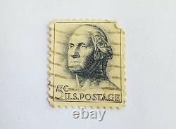George Washington 1962 United States 5 cent stamp