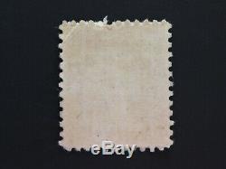 George Washington 3 Cent U. S. Postage Stamp Purple Used