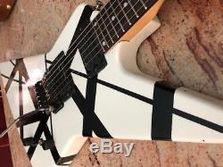 Gibson Explorer with Kramer Neck, Gotoh, Kramer Stamped Floyd Rose, EVH Style