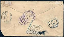 HAWAII RARE REGISTERED FUMIGATED COVER WithERROR STAMP