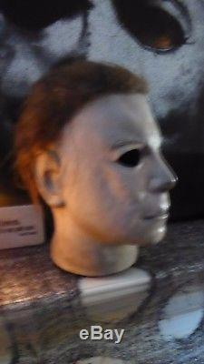 HalloweeN MICHAEL MYERS MASK NAG RARE NDMM stamped #2 art by Freddy Loper
