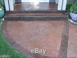 Heavy Quarry Stone 2 pc. Seamless Skin Concrete Stamp Set