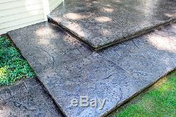 Heavy Quarry Stone 4 pc. Seamless Skin Concrete Stamp Set