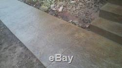 Heavy Quarry Stone 6 pc. Seamless Skin Concrete Stamp Set