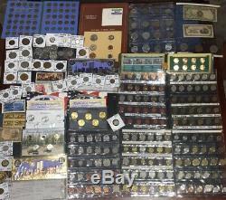 Huge Lot 400+ Coins&stampIndian/Mercury/Buffalo/Standing Liberty/JFK/Tax Token+