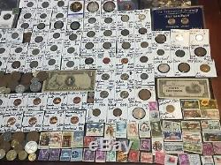 Huge Lot 450+Coin$/StampSilver Note/Mercury/Buffalo/Indian/1893/PCGS/V/Error+