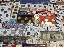 Huge Lot 450+Coin$/StampSilver Note/Mercury/Buffalo/Indian/1893/V/Error/L@@K