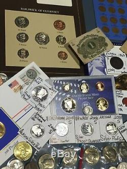 Huge Lot 450+Coin/StampSilver PROOFS/WL Half/Mercury/Buffalo/Indian/1893/Note$+