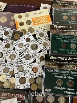 Huge Lot 500+ Coin/StampSilver Note/Mercury/Buffalo/Indian/3C/WL/Proof/JFK/IKE+