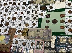 Huge Lot 500+ Coin/StampSilver Note/Mercury/IKE/Buffalo/Indian/WL/IKE/JFK/Proof