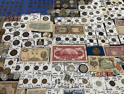Huge Lot 500+ Coin/StampSilver Note/Mercury/V/Buffalo/1918-S/Proof/JFK/1931D+
