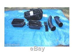 Husqvarna OEM 42 Mower 2-BIN Grass Catcher Bagger H242SL 1990-2019 Stamped Deck