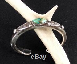Jock Favour Silver Turquoise Bracelet Stamped SALE SALE