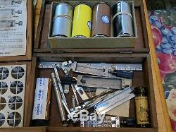 Kingsley Hot Foil Stamping Machine M-50 TypeSet Fonts, Foil +Accessories