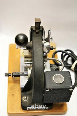 Kingsley Machine Company M-60 Hot Foil Stamping Machine inv#1193