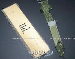 Knife M7Bayonet 1969 US Military & M8A1Scabbard Arsenal Stamp Vietnam War NOS