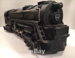 Lionel 671 Engine Earliest Atomic Motor, Smoke Bulb, Rubber Stamped Nice