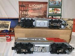 Lionel Postwar 2526W Flat Channel Boxed Scarce Over-stamped Box (Killer!)