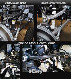 Lowering Kit Chevy GMC 2016-2018 Silverado Sierra 3/5-4/6 McGaughys Stamped Arm