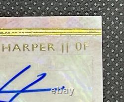MIKE TROUT BRYCE HARPER 2014 Topps Supreme GOLDDUAL AUTO update #16/25 2011