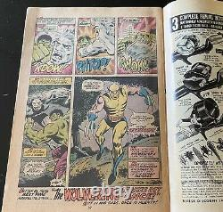 Marvel Comics Incredible Hulk #180 1st Wolverine Cameo, Including Stamp, Fine