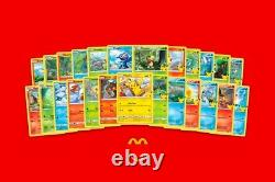 McDonalds Pokemon 25th Anniversary Choose your card! All Cards Available