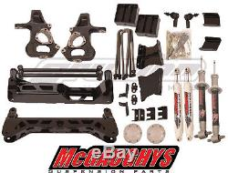 McGaughys Chevy Silverado 2014-18 7-9 Lift Kit 1500 2WD Stamped Steel A Arms