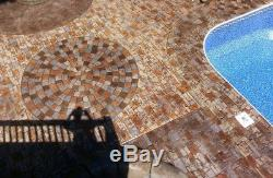 Medieval Cobble Concrete Stamp Set 5 pc