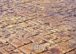 Medieval Cobble Concrete Stamp Set 8 pc