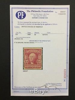 Momen Us Stamps #322 Coil Mint Og Nh Xf Rarity Pf Cert