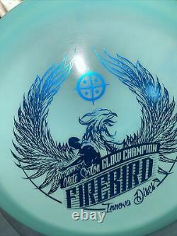 NEW 2016 Sexton Glow Firebird 10/10 Collector Kept Stamp/No dropouts