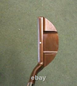 New Black Lab Golf BL-9 USA Milled Oil Can Putter Heel Shaft Compact Mallet 355g