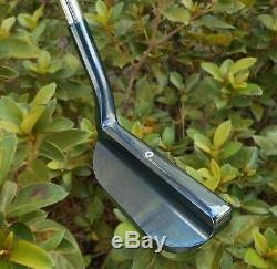 New Black Lab Golf USA Milled BL-8 Putter Aquamarine Blue Ox Hand Stamped 355g