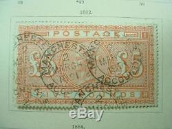 Noblespirit 8430 1840-1940 $1.7 Million Stamp Collection 121 CERTIFICATES