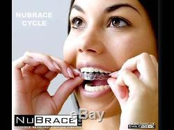 NuBrace Clear Removable Orthodontics differ from Invisalign with lamination