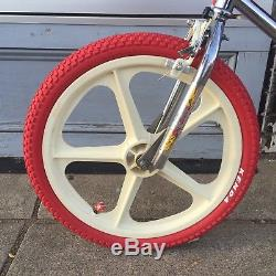 OLD SCHOOL BMX 1982 Santa Ana Pre Stamp GT Tuff wheel Mags Complete
