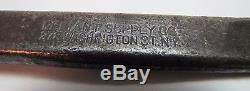 Old Adv Pennsylvania Railroad RET Tack Hammer Pry Bar stamped PA symbol PRR