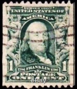 One Cent Benjamin Franklin Stamp