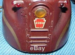 Original Lionel #2360 Penn. Gg-1 Typ. IV 1961 Rubber Stamp Collector Gde. No Bx