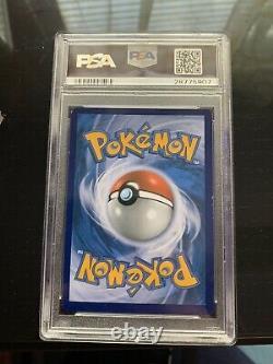 PSA 8 Pokemon STAFF STAMP Charizard 11/108 Pre-Release Promo XY evolution