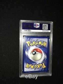 PSA 9 MINT Pokemon Blastoise 1st Edition Base Set Holo Shadowless #2 THICK STAMP