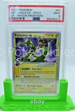 PSA 9 Mint Rayquaza Reverse Holo EX Delta Species 13/113 Pokemon