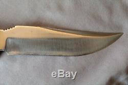 R. H. Ruana Knife Custom Finn Model 27c Hunting, Skinner, (m) Stamp