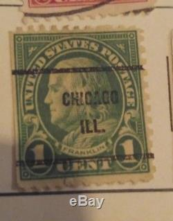 Rare 1 Cent Green Ben Franklin Stamp 1936 Post Maybe Scott 594 Or 596